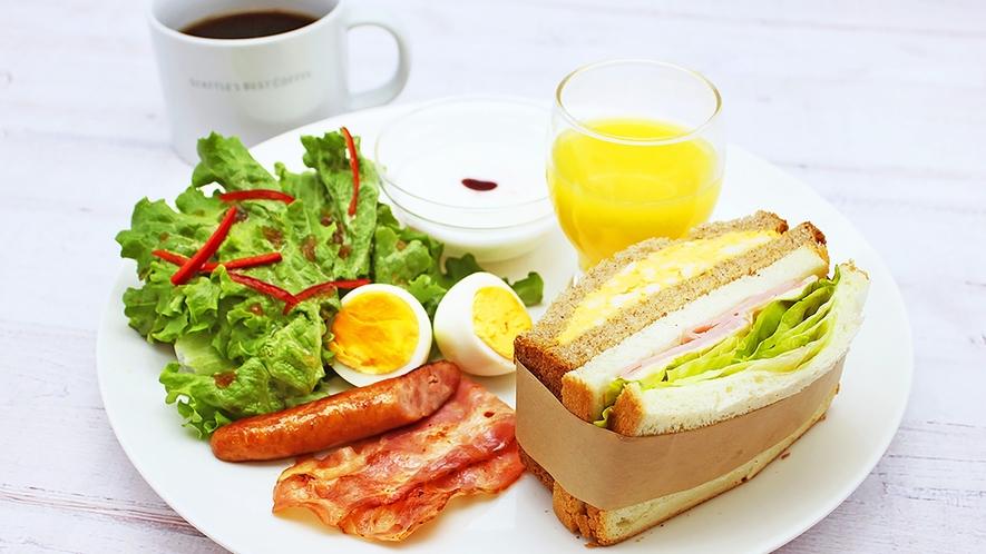 【朝食】SEATTLE'S BEST COFFEEにてモーニングセットをご用意しております