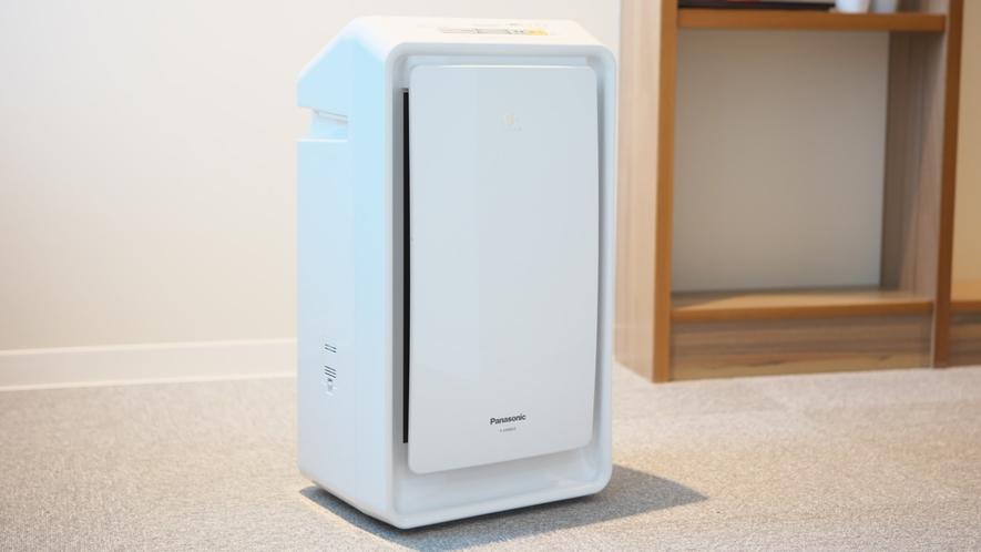 【客室備品】加湿機能付空気清浄機
