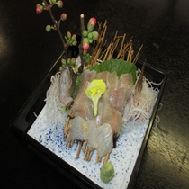 岩魚のお刺身