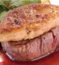 牛ヒレ肉とフォアグラのロティ ヤマモモソース