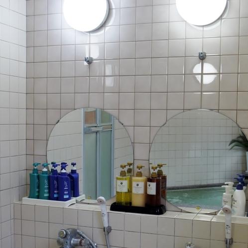 貸し切り風呂 洗い場
