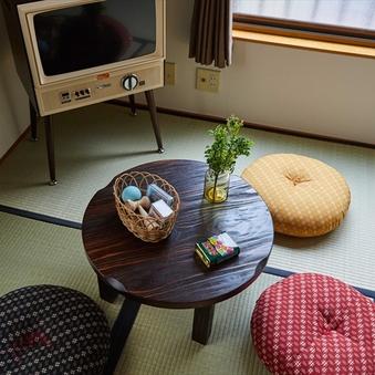 日当良好!日本の懐かしい佇まいを楽しむカップルルーム