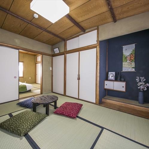 【庭付き一軒家】客室内