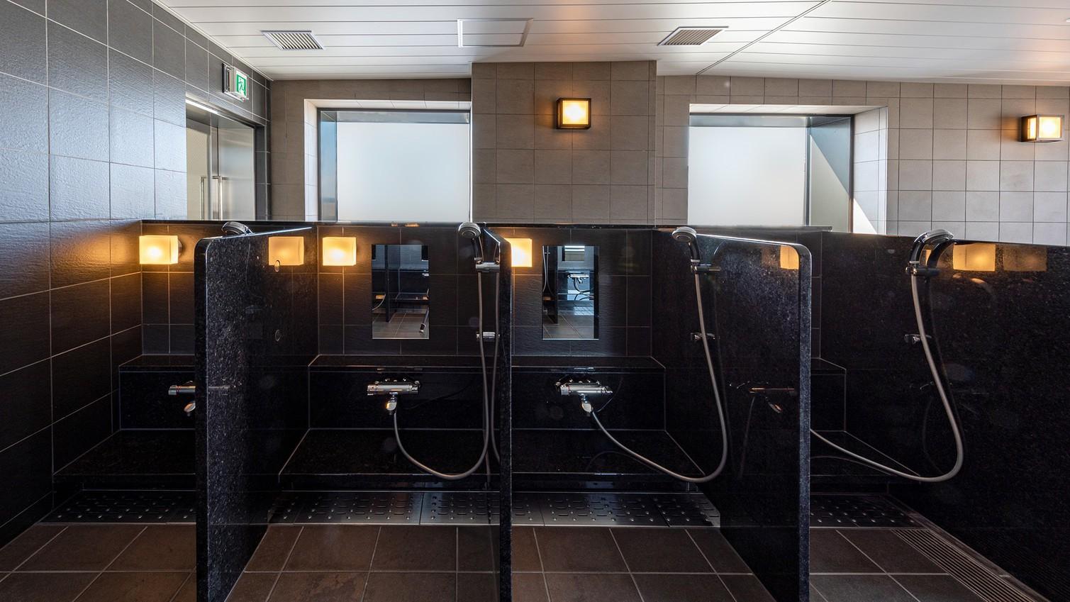 【大浴場】<19F>洗い場