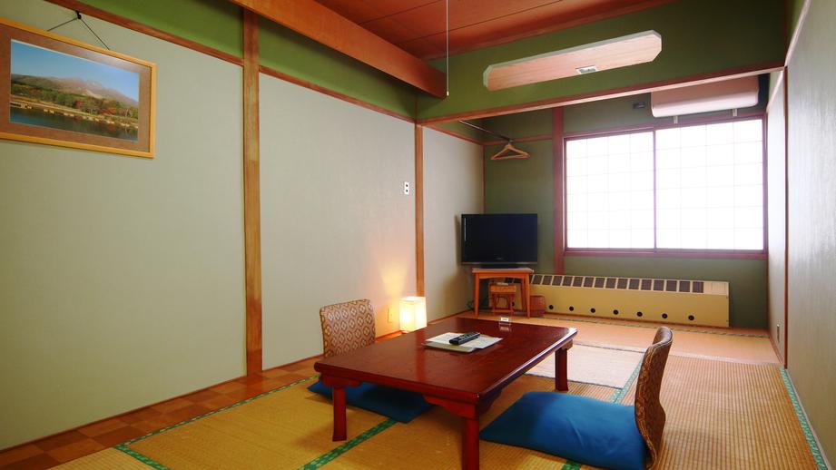 客室◆コンパクト和室8畳。おひとり様やビジネス利用におすすめなこぢんまりとしたお部屋です。