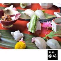 國崎のお料理は四季折々に変化をいたします。
