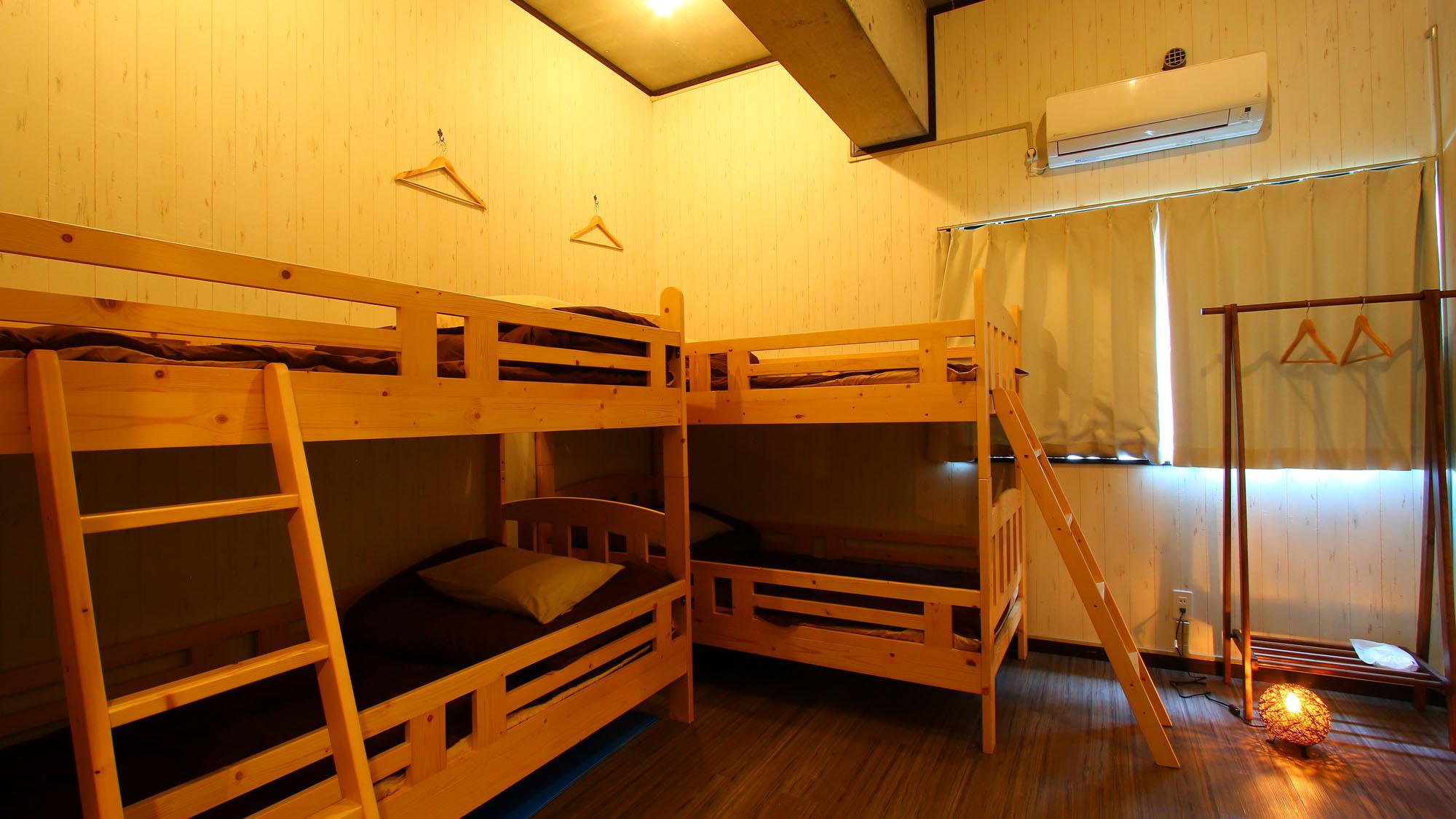 ドミトリー4名部屋