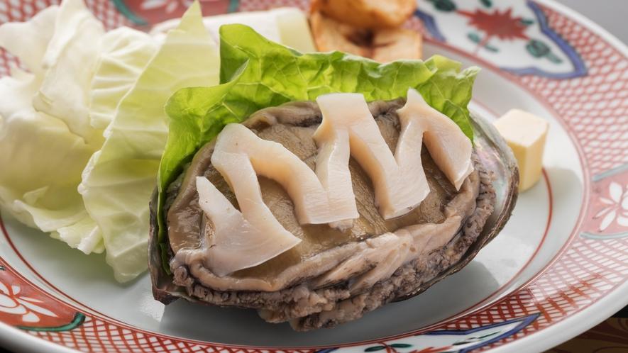 満月会席◆メイン料理選択その2:鮑ステーキ