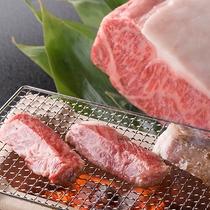 人気No.1メニュー!神戸BEEF網焼き◆料理人が一つひとつ丁寧に焼き上げてご提供をいたします。