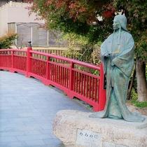 【月光園から徒歩6分】ねね橋◆有馬温泉の撮影スポット。ドラマやTV撮影のスタート地点でもお馴染み。