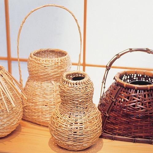 有馬籠◆兵庫県の伝統的工芸品に指定されている「有馬籠」。有馬温泉の名産品です。