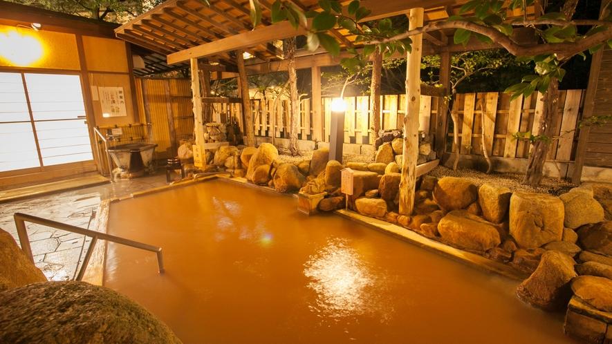 源泉掛け流し露天風呂◆ご婦人「玉鉾(たまほこ)の湯」 ※湯浴みのみ