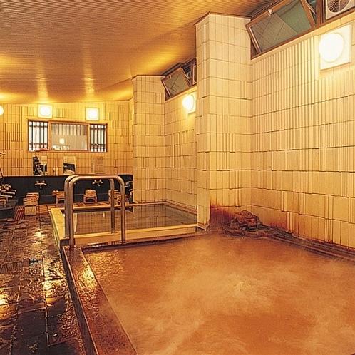 ご婦人大浴場「亀の湯」◆銀泉(ラドン泉)と金泉の内湯がございます。