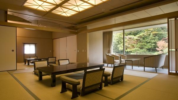 有馬随一の景観!特別室【和室15帖+8帖+広縁(10平米)】