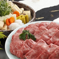 神戸BEEFすき焼き◆大ボリューム!200gもの神戸BEEFを、特製割下で贅沢にご賞味下さいませ。
