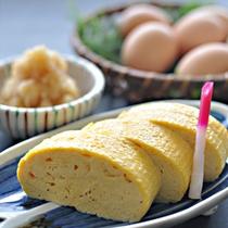 1日10食限定!プレミアム朝食◆お出汁じゅわ~っ、ふわふわ♪京風出し巻き玉子