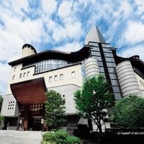 鴻朧館 外観◆ドイツのノイシュバンシュタイン城と似ているとよく言われる、一見お城の様な温泉旅館です。