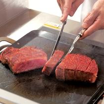 最上階ロイヤルスイート◆ご夕食メインの神戸牛は、「ロース」「ヘレ」よりお選びくださいませ。