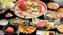 満月会席◆選べる「メイン料理」と「〆の一膳」が人気の会席料理です。
