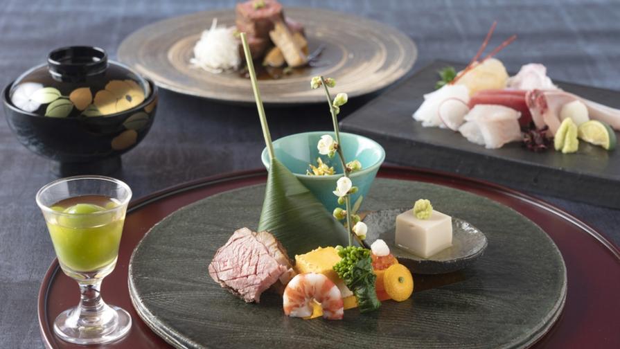 【スタンダード・日本料理(和食)】地元食材と季節を感じる美食を堪能♪