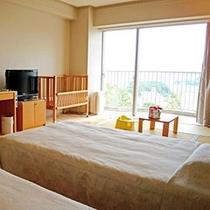 客室:ウェルカムベビーのお宿認定和洋室