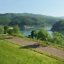 くりこま高原のダム