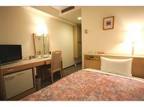 ◆シングル◆広さ13.5平米/ベッド幅110cm/ビジネス・観光・受験にオススメ