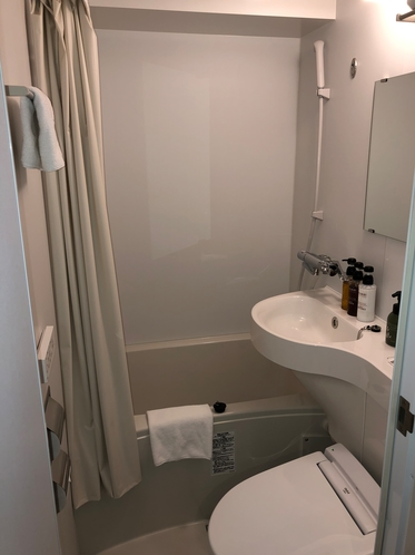 ユニットタイプのバストイレ