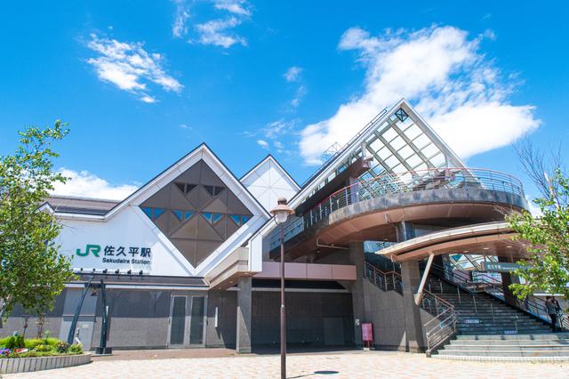 JR北陸新幹線・佐久平駅