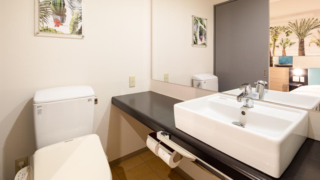 【洗面台】バス・トイレ別のため、広々ご利用いただけます。