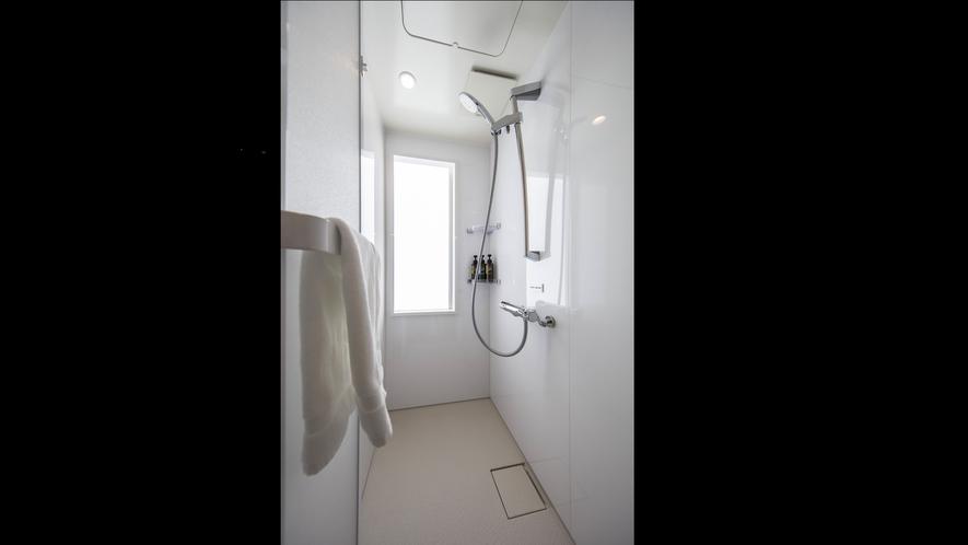 各お部屋広々としたシャワーブース付★