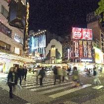 ★金沢 片町★ホテルは繁華街の片町交差点のすぐ近くです。