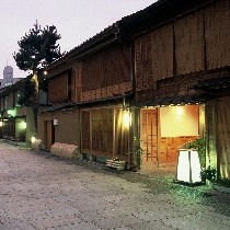 情緒たっぷりの「にし茶屋街」で江戸の町人気分に浸りましょう!ホテルからも徒歩約10分!