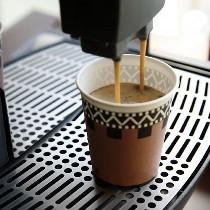 ウェルカムコーヒーは挽きたて!