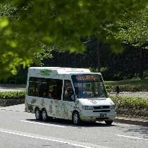 ふらっとバス 金沢市民の足 とても狭い路地を縫って走ります!