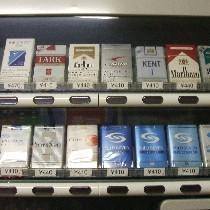 タバコは1階自販機コーナーで販売いたしております。タスポをお忘れなく!