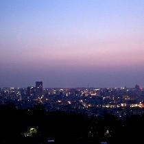 ホテル近くの卯辰山からの夜景☆です。