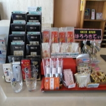 フロント売店/金沢名産金箔グッズ販売しております。