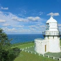 能登半島のてっぺんの禄剛埼灯台
