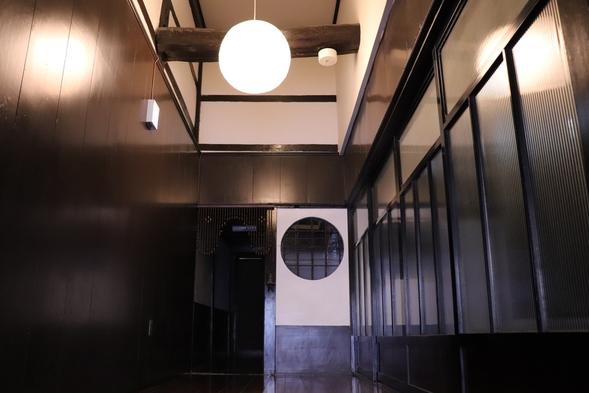 【ゆったり滞在!ワーケーションも可能】百年町家「佐野邸」能登半島・七尾市町中にある自炊可能な一棟貸宿