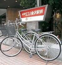 レンタサイクルで金沢の街をすいすい♪