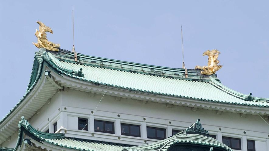 名古屋城天守閣 金鯱