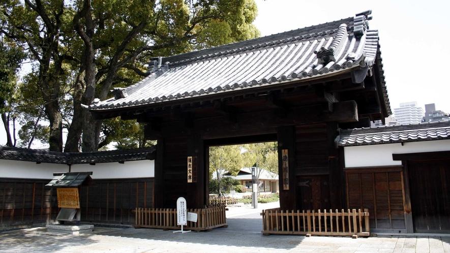 徳川園 黒門