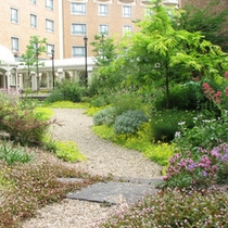 【ネイチャーガーデン】ようこそ、癒しのガーデンホテルへ。庭がもたらすうるおいを存分に