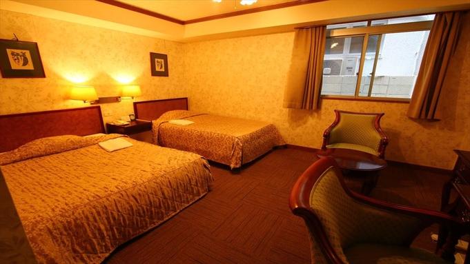 【3連泊】3連泊以上限定★ゆったりベッドが自慢のホテル(夕食付)