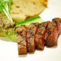黒毛和牛特製ステーキ 蕎麦クレープ(肉コース)