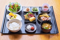 <朝食>和食セットメニュー