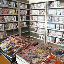 11F ラウンジ 漫画本コーナーを設置