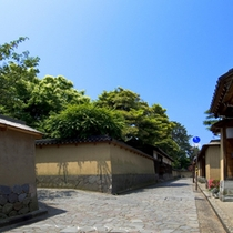 周辺観光:武家屋敷