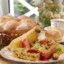 朝食はアメリカンブレックファスト。洋食となります。